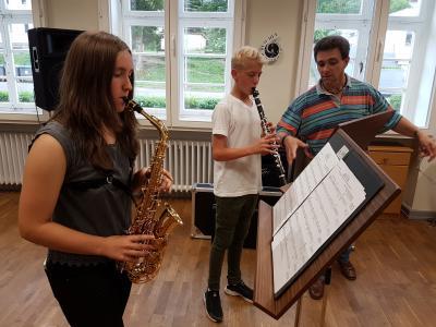 Saxophon/Klarinette/ Hr. Krämer