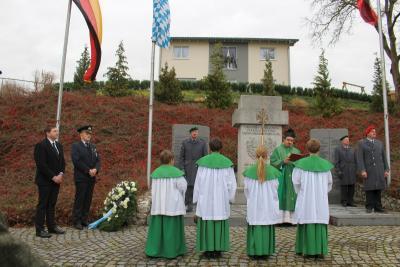 Foto zur Meldung: Der Volkstrauertag ist und bleibt ein Tag der Erinnerung, er bewahrt die Toten vor dem Vergessen