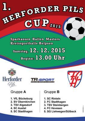 Foto zur Meldung: 1. Herforder-Pils-Cup des FC Hevesen