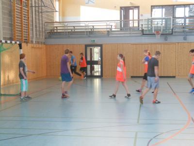 Foto zur Meldung: Fuß-und Brettballspiele der Kl.7-10