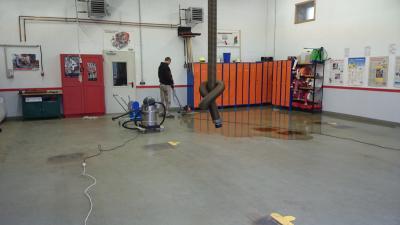 Foto zu Meldung: Reinigung Gerätehaus