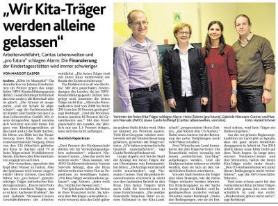 Vorschaubild zur Meldung: Aachener freie Kita-Träger schlagen Alarm