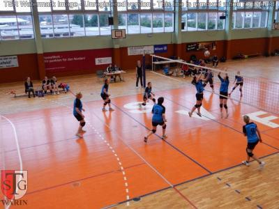 Foto zur Meldung: + + + Volleyball: 5. Spieltag Landesklasse West Frauen + + +