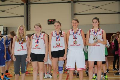 Foto zur Meldung: Kreisfinale Basketball WK III m+w & WK IV mix