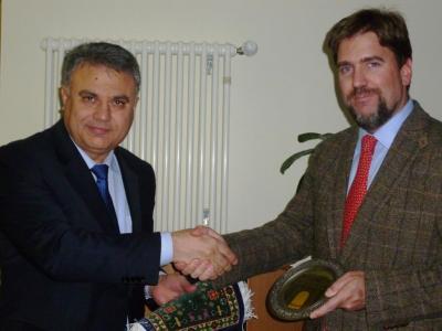 Foto zur Meldung: Delegations aus Aserbaidschan zu Gast in der Brücker Amtsverwaltung