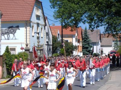 """Foto zur Meldung: 110 Jahre Spielmannszug TV """"Deutsche Eiche"""" Hirschfeld"""