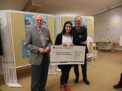 Foto zur Meldung: Innovationspreis 2015 geht an die Anne-Frank-Gemeinschaftsschule Elmshorn