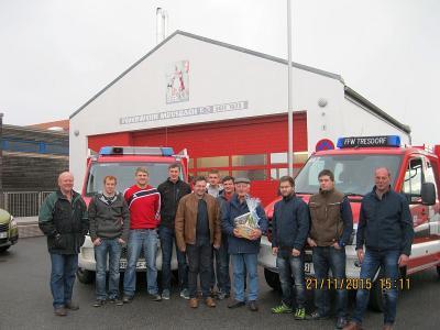 Foto zur Meldung: Sieben Teilnehmer haben den Feuerwehrführerschein mit Bravur absolviert