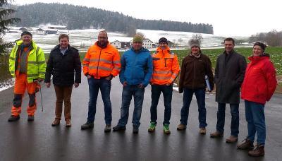 Foto zu Meldung: Bauarbeiten rechtzeitig vor Wintereinbruch abgeschlossen