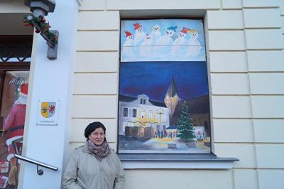 Foto zur Meldung: 1. Adventsbild von der Peenestadt Neukalen
