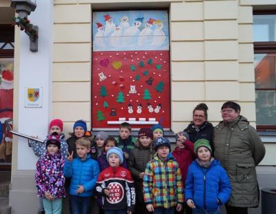 Foto zur Meldung: 3. Adventsbild von der Peenestadt Neukalen
