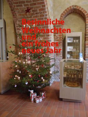 Vorschaubild zur Meldung: Wir wünschen allen Gästen und Freunden des Museums für Stadtgeschichte Templin besinnliche Feiertage!