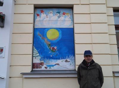 Foto zur Meldung: 5. Adventsbild von der Peenestadt Neukalen