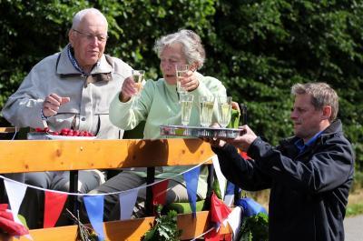 Foto zu Meldung: Hans Siebke wird 75