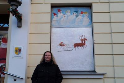 Foto zur Meldung: 6. Adventsbild von der Peenestadt Neukalen