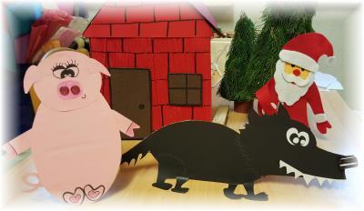 Foto zur Meldung: Zilly, Billy und Willy warten auf den Nikolaus