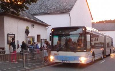 Foto zu Meldung: Neue Buslinien - es  ist Bewegung in der Angelegenheit