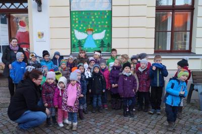 Foto zur Meldung: 8. Adventsbild von der Peenestadt Neukalen