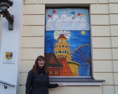Foto zur Meldung: 9. Adventsbild von der Peenestadt Neukalen