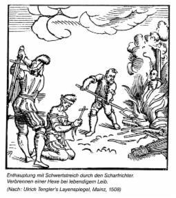 """Vorschaubild zur Meldung: Historischer Abend zum Thema """"Hexenverfolgung"""""""