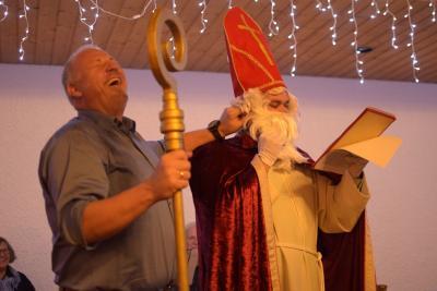 Foto zu Meldung: Hurra hurra - der Nikolaus ist da!