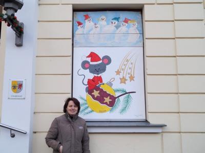 Foto zur Meldung: 12. Adventsbild von der Peenestadt Neukalen