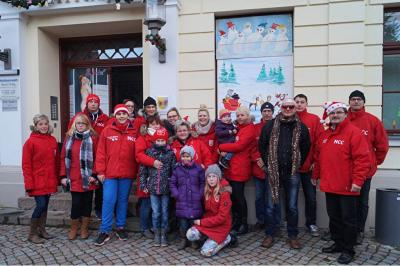 Foto zur Meldung: 13. Adventsbild von der Peenestadt Neukalen