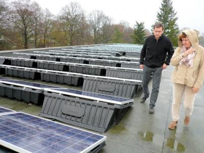 Foto zu Meldung: Photovoltaikanlage versorgt das Amtsgebäude mit Strom