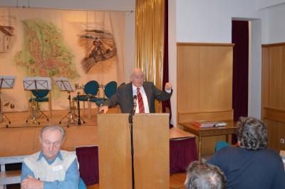 Besuch des ehem. bayerischen Ministerpräsidenten Dr. Günther Beckstein