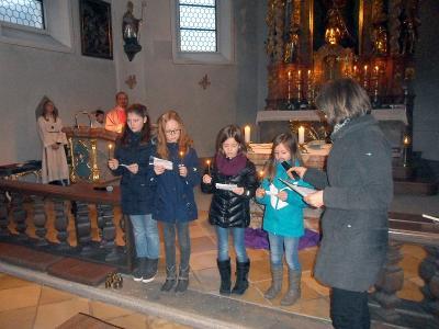 Foto zur Meldung: 3. Adventsonntag zum Fest der Hl. Lucia