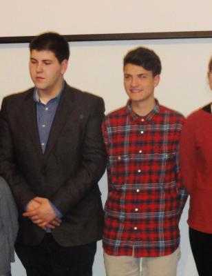Foto zur Meldung: Jugendehrung 2015 - Jugendliche aus dem Amt Brück ausgezeichnet