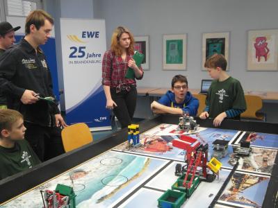 Foto zur Meldung: Regionalfinale der First LEGO League in Schwedt