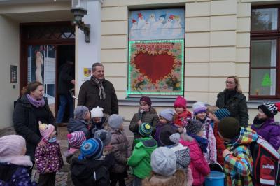 Foto zur Meldung: 15. Adventsbild von der Peenestadt Neukalen