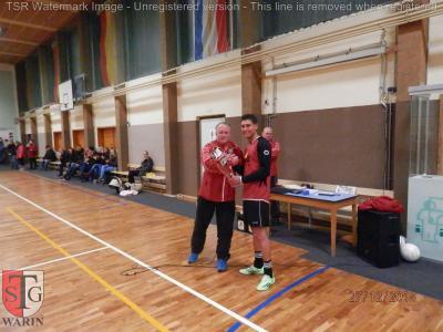 Foto zu Meldung: + + + Vereinsinternes Fußball Hallenturnier der TSG Warin in Ventschow + + +