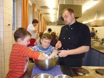 Foto zur Meldung: Milchprojekt mit der Pestalozzi-Grundschule