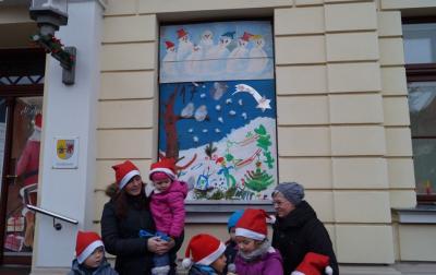 Foto zur Meldung: 17. Adventsbild von der Peenestadt Neukalen