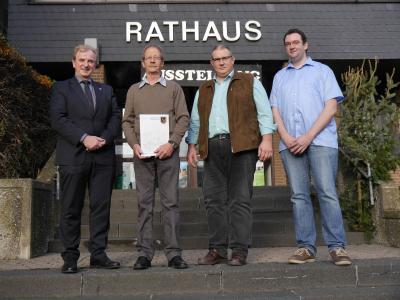 Foto zur Meldung: 40. Dienstjubiläum bei der VGV Rheinböllen