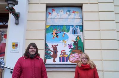 Foto zur Meldung: 18. Adventsbild von der Peenestadt Neukalen