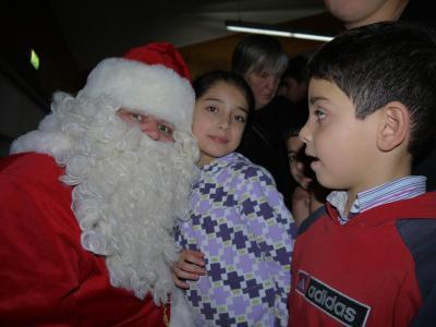 Foto zur Meldung: Weihnachtsfeier für geflüchtete Familien