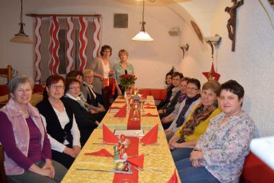 Foto zur Meldung: Weihnachtsfeier-Callanetics-Gruppe