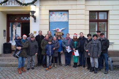 Foto zur Meldung: 20. Adventsbild von der Peenestadt Neukalen