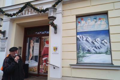Foto zur Meldung: 21. Adventsbild von der Peenestadt Neukalen