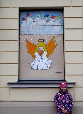 Foto zur Meldung: 22. Adventsbild von der Peenestadt Neukalen