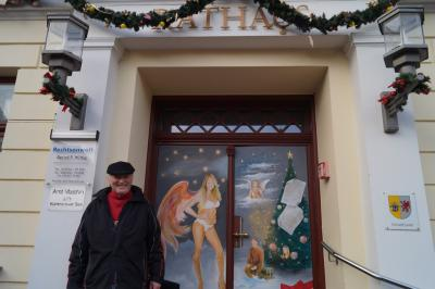 Foto zur Meldung: 24. Adventsbild von der Peenestadt Neukalen
