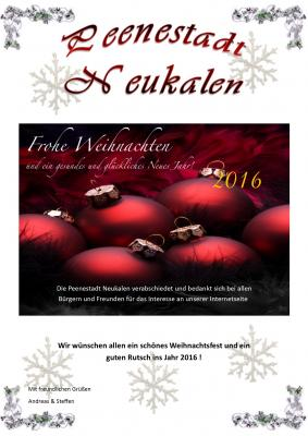 Foto zur Meldung: Frohe Weihnachten und ein guten Rutsch!
