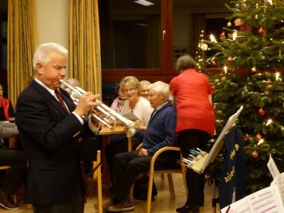 Foto zur Meldung: Weihnachtsmusik mit den Pohnsdorfer Kranichen