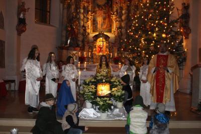 Foto zur Meldung: Christmette in Moosbach