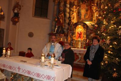 Foto zur Meldung: Jahresabschlussgottesdienst in Moosbach