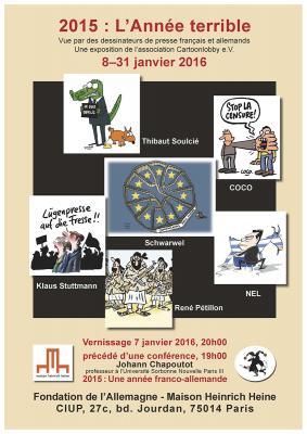 Poster der Pariser Ausstellung