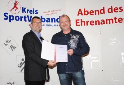 Foto zu Meldung: Ehrenamtspreis 2015